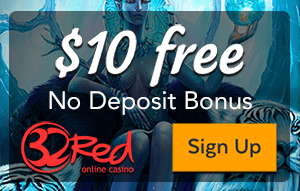32Red Casino no-deposit welcome bonuses