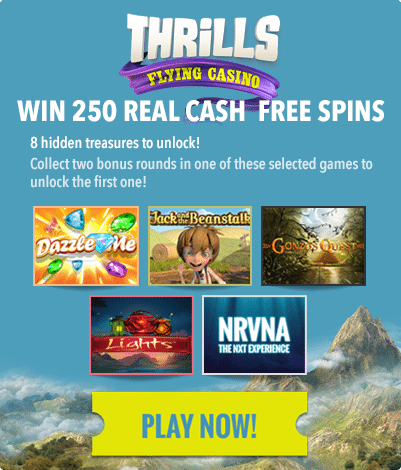 Thrills Casino loyalty points and pokies bonuses